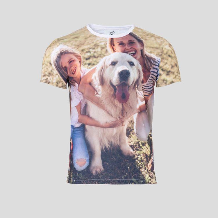 T-shirt imprimé avec vos images