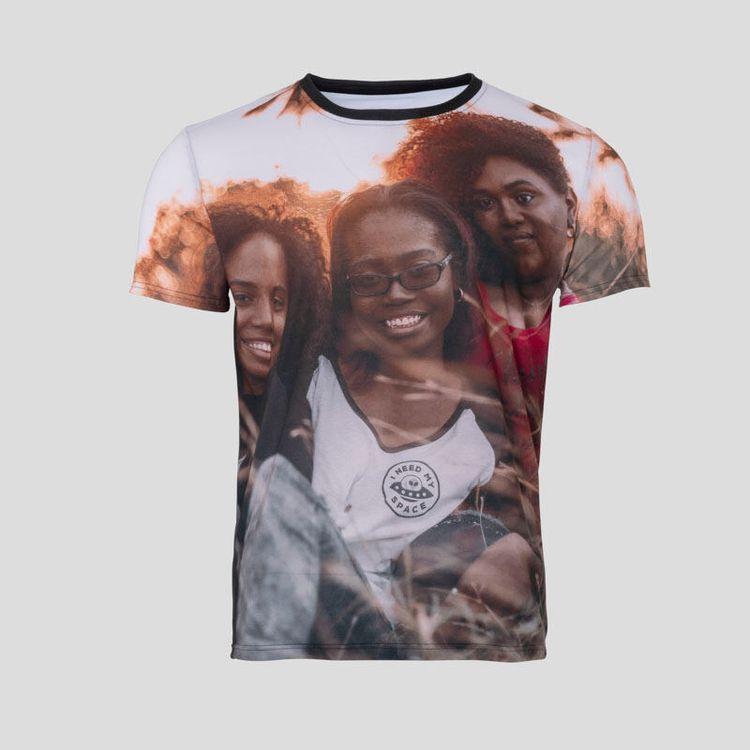 t-shirt med foto