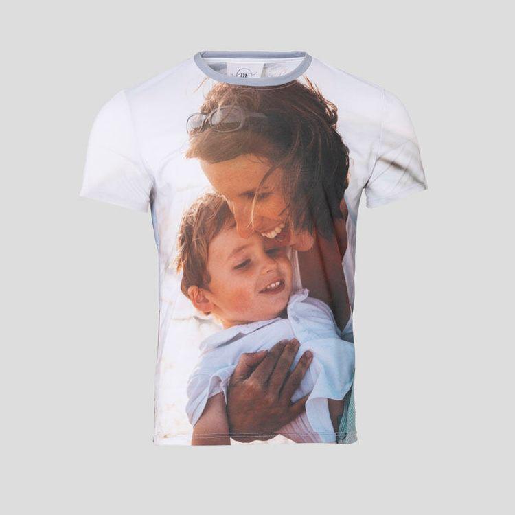 Personlig t-shirt med foto