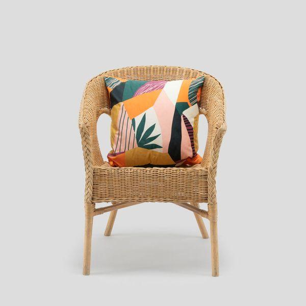 artwork on cushion