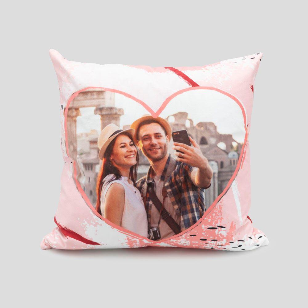 custom valentine pillow