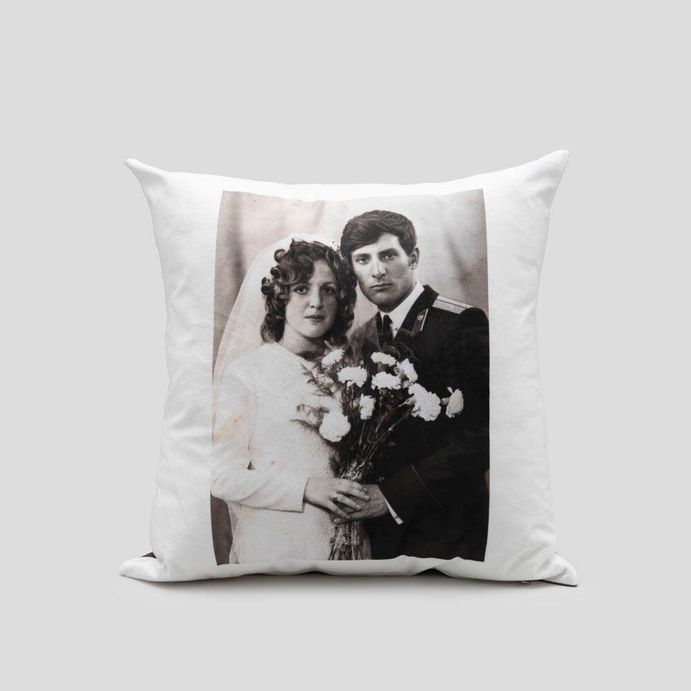 custom velvet cushion