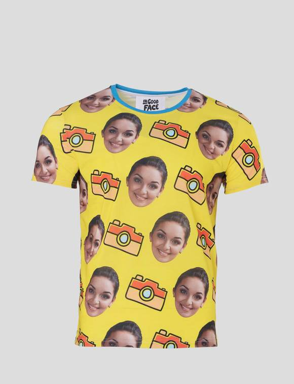 face tshirt