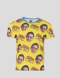 T-Shirt mit Gesicht