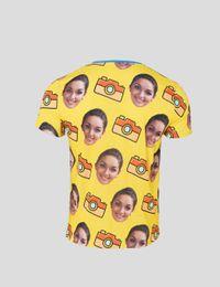 face print t shirt