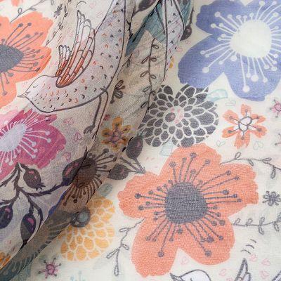 organza fabric uk printed