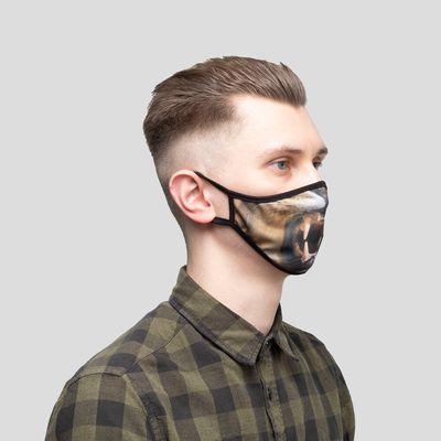 Jeu de 4 masques personnalisés