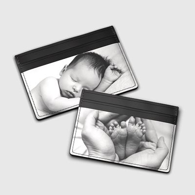 fotos personalizado tarjetero tarjeta credito