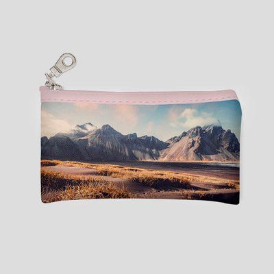 personalised travel make up bag