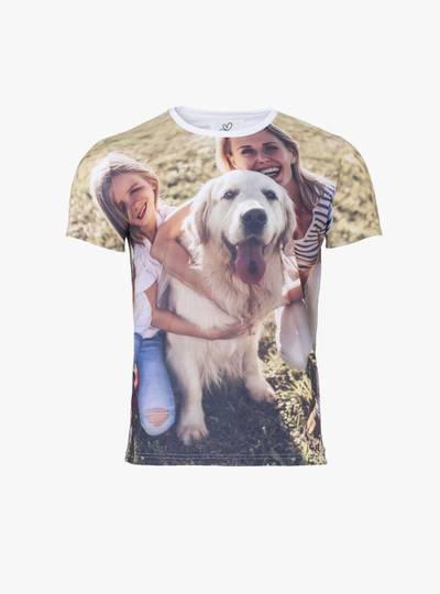 T-Shirt mit All Over Druck