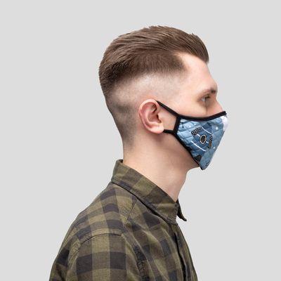 mondmasker met fotoprint