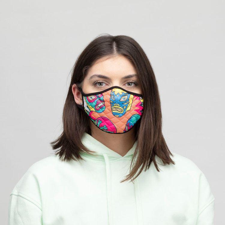 mascherina facciale con foto