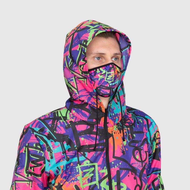 traje protector de moda personalizado reutilizable mascarilla
