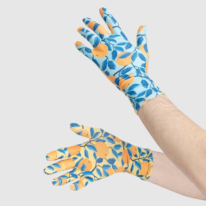 designade handskar