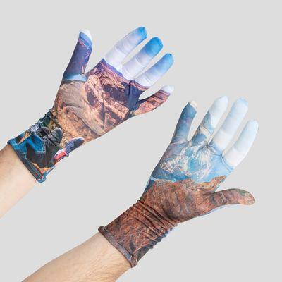 Lycra Handschuhe bedrucken