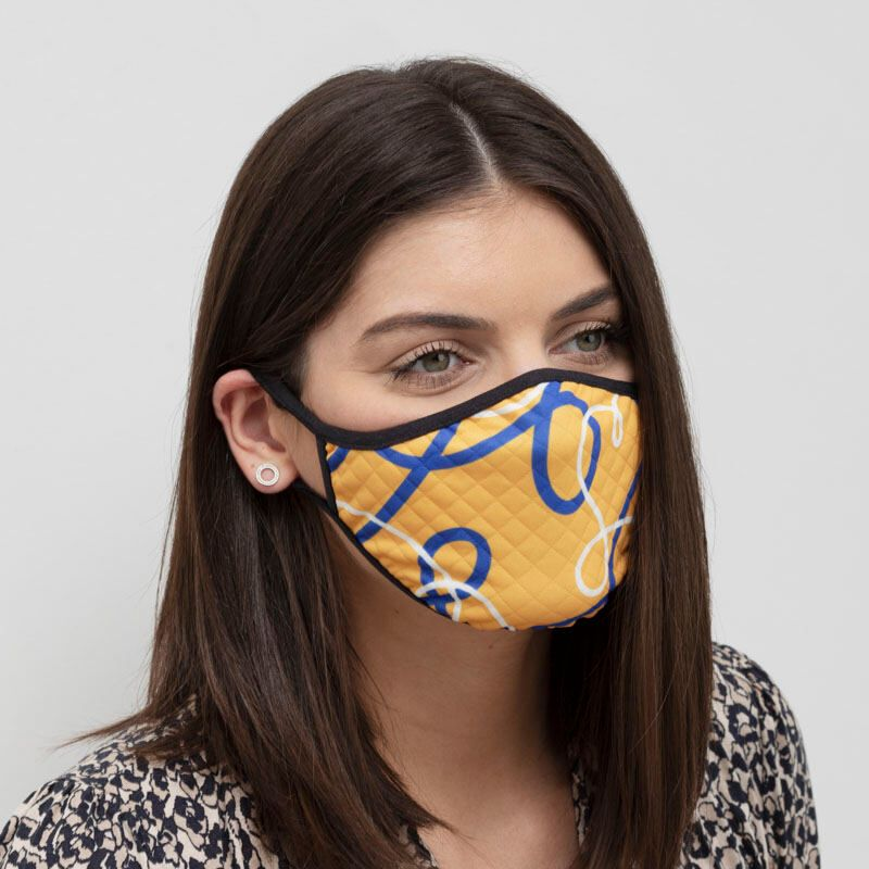 Custom Face Masks. Printed Face Masks 2-4 Pack. Handmade.