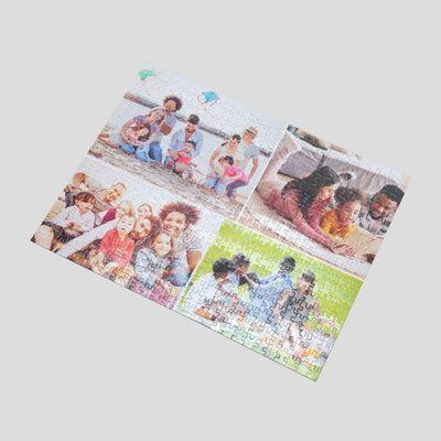 puzzle personnalisé collage