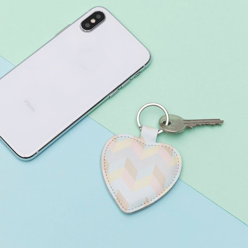 porte clé coeur personnalisé