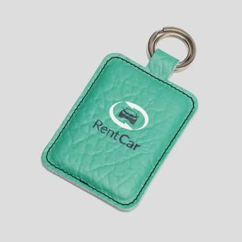Schlüsselanhänger beidseitig mit Logo bedrucken