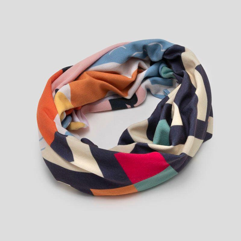 Custom neck tube as headband