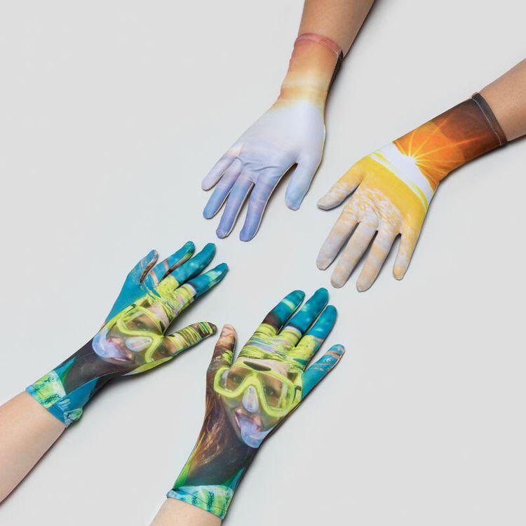 guantes personalizados impresos diseño online