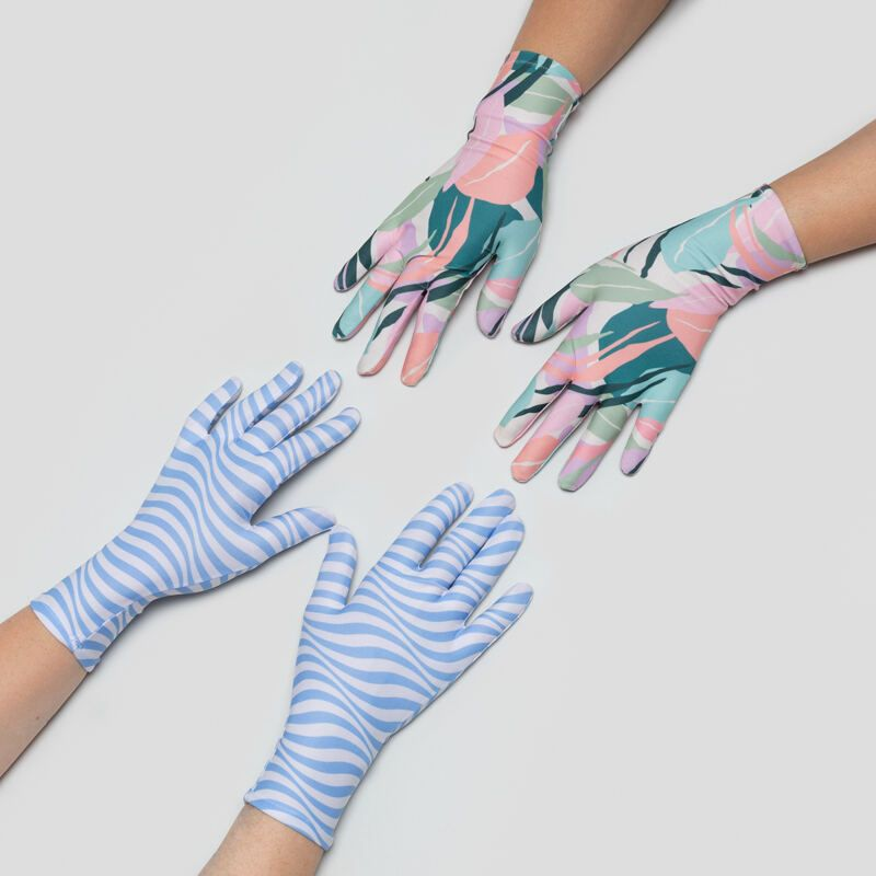 gepersonaliseerde dames en heren handschoenen