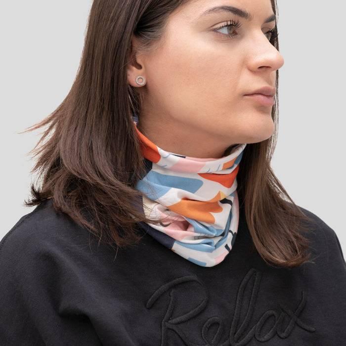 Custom printed scarf