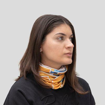Custom neck scarf