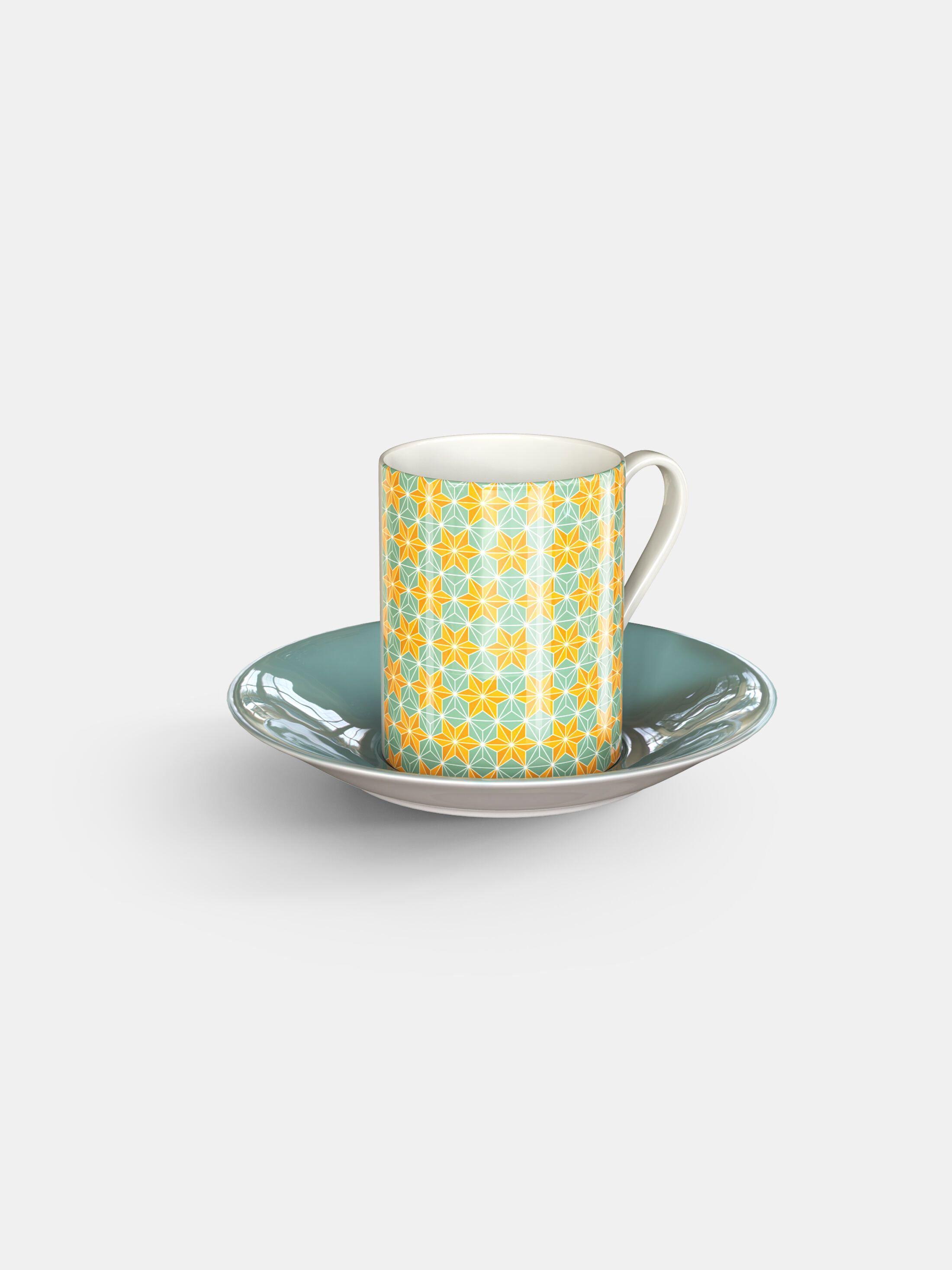 printed espresso cups