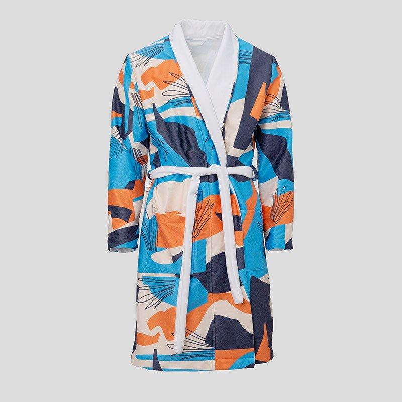 personalised bathrobes for men