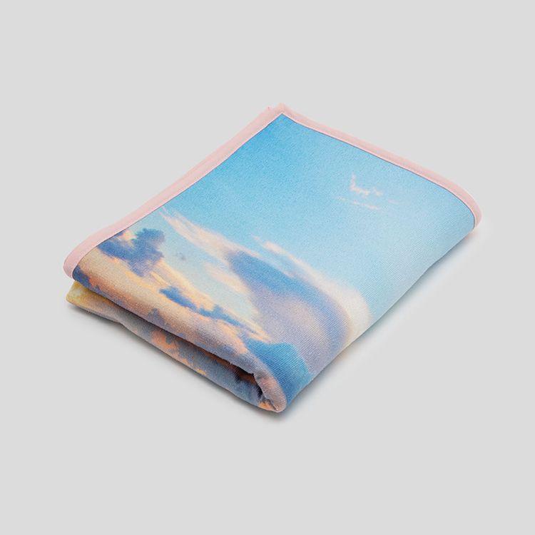personalised gym towel large binding