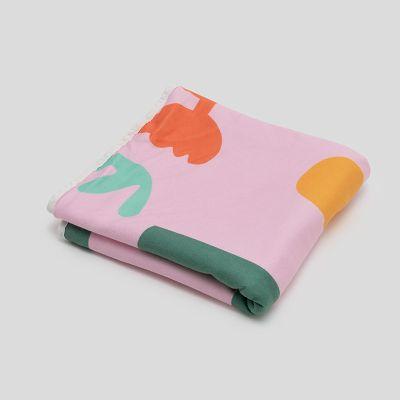 printed bath towels