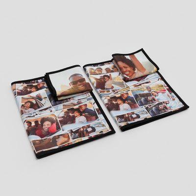 Handtuch mit Foto set für Oma und Opa