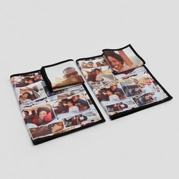 serviettes éponge personnalisées