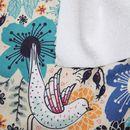 custom Toweling fabric samples printing