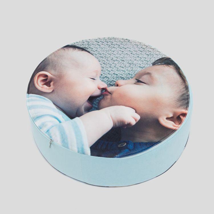 Coussin de sol avec photo de bébé