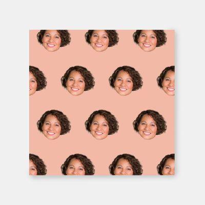 canvas met gezichten