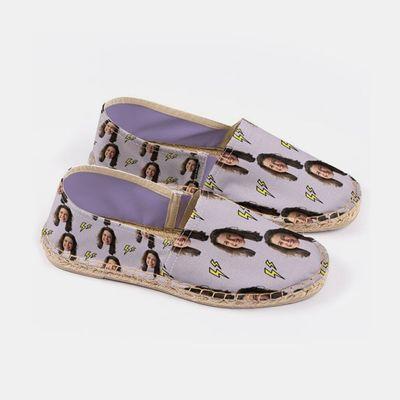 zapatos personalizado online con cara mujer