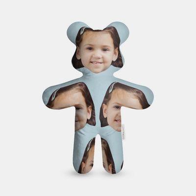 teddybjörn med ansikte
