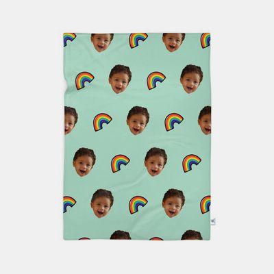 dekens met gezichten