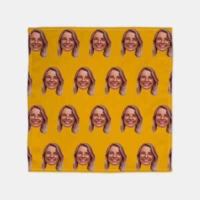 bandana personalizzata con faccia
