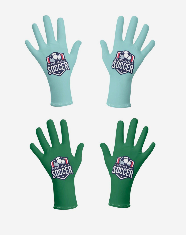 guantes impresos
