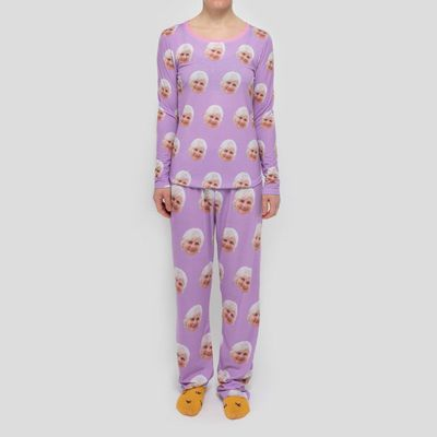 pyjamas avec visages