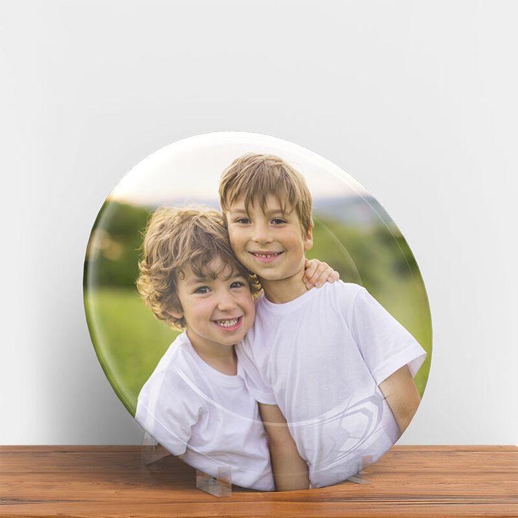 photo plate family photos