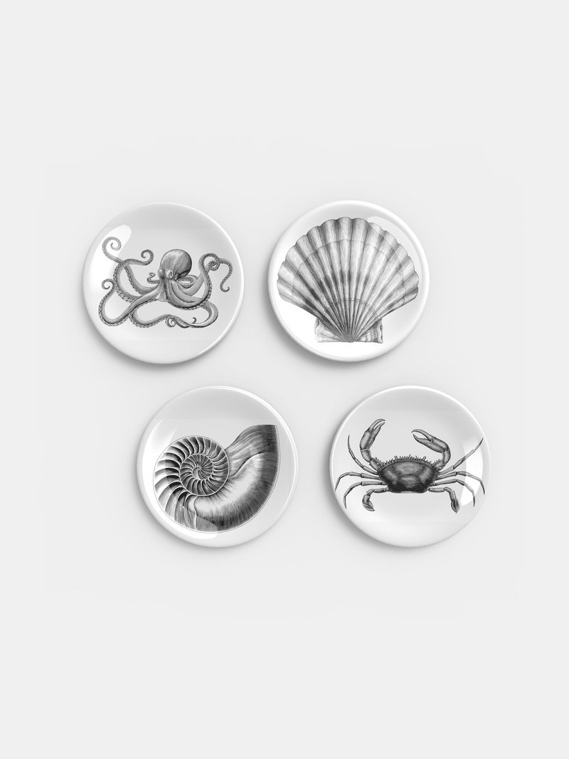 stampa su piatti in ceramica
