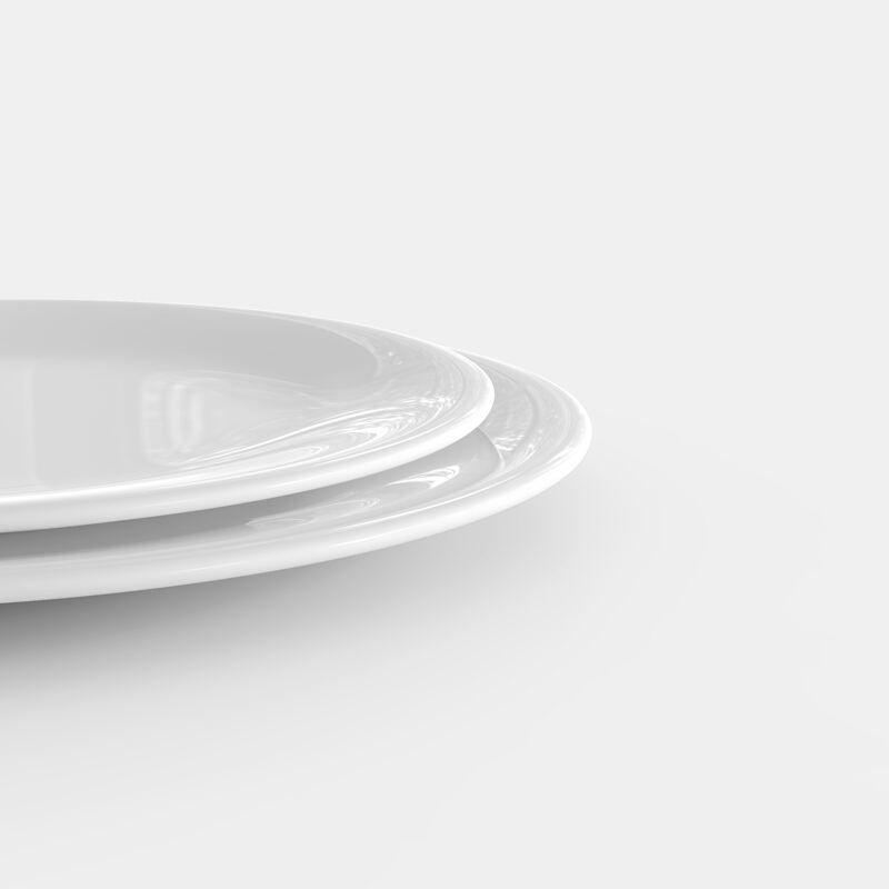 différentes tailles de l'assiette personnalisable