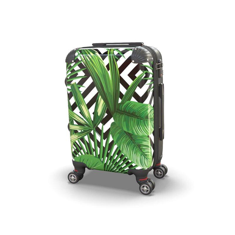 Valise personnalisée avec dessin pour les vacances