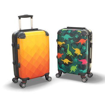 Valigia con stampa personalizzata