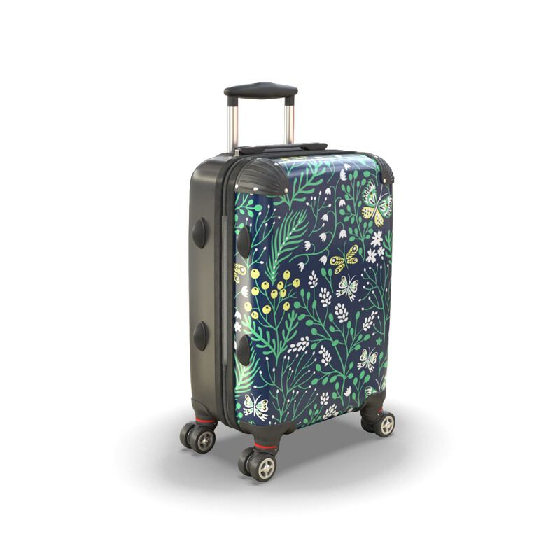 custom suitcase printing