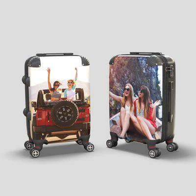 スーツケース プリント